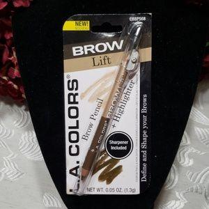 L.A. Colors Brow Lift pencil + highlighter medium